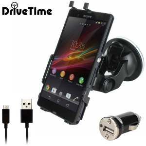 DriveTime Sony Xperia Z Adjustable Car Kit