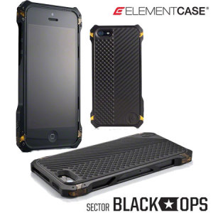 ElementCase Sector 5 Black Ops iPhone 5 Case - Black