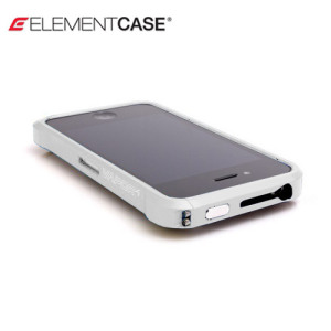 ElementCASE Vapor 4+ Bumper Case for iPhone 4S / 4 - White