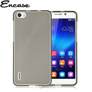 Encase FlexiShield Huawei Honor 6 Case - Smoke Black