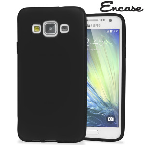 Encase FlexiShield Samsung Galaxy A7 2015 Gel Case - Black
