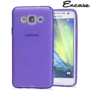 Encase FlexiShield Samsung Galaxy A7 2015 Gel Case - Purple