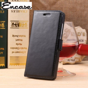 Encase Leather-Style EE Kestrel Wallet Case - Black