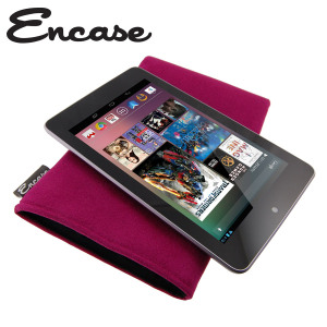 Encase Ultrasuede Pouch for Google Nexus 7 - Pink