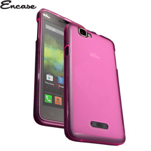Encase FlexiShield Wiko Rainbow Case - Pink
