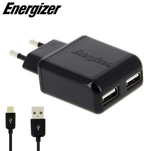 Energizer Dual USB EU Wall Charger