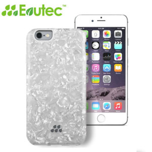 Evutec Apple iPhone 6S / 6 Kaleidoscope Pattern SC Series Case - White