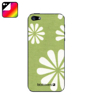 Fabricovers 100% Cotton Skins for iPhone 5S / 5 - Gerbera A88