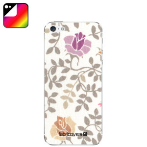 Fabricovers 100% Cotton Skins for iPhone 5S / 5 - Lovisa D43