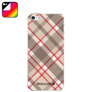 Fabricovers 100% Cotton Skins for iPhone 5S / 5 - Meadow D90