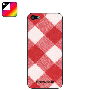 Fabricovers 100% Cotton Skins for iPhone 5S / 5 - Nisha D90