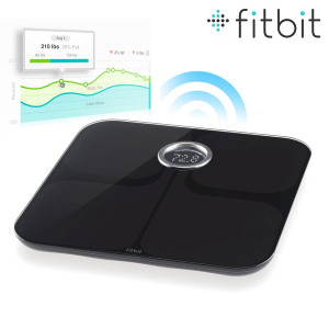 Fitbit Aria Wi-Fi Smart Scales - Black