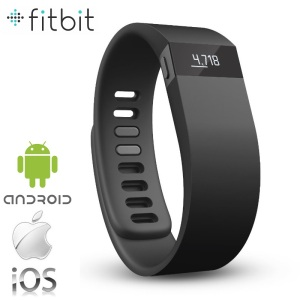 Fitbit Force Refresh Wireless Activity Wristband - Black - Large