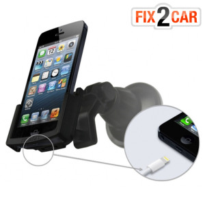 Fix2Car Adjustable Passive Holder with Suction Cup for iPhone 5S / 5