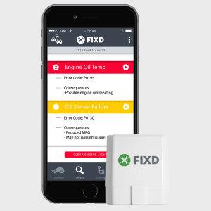 FIXD Bluetooth In Car Diagnostics Sensor