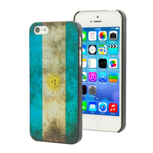 Flag Design iPhone 5S / 5 Case - Argentina