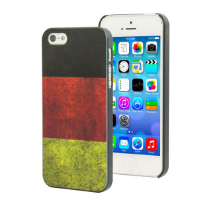 Flag Design iPhone 5S / 5 Case - Germany