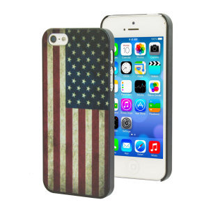 Flag Design iPhone 5S / 5 Case - USA