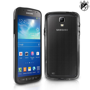 FlexiFrame Bumper Case for Samsung Galaxy S4 Active - Black / Clear