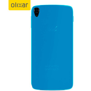 Flexishield Alcatel Idol 3 4.7 Case - Blue