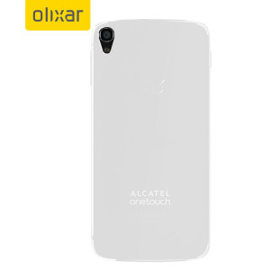 FlexiShield Alcatel Idol 3 4.7 Case - Frost White