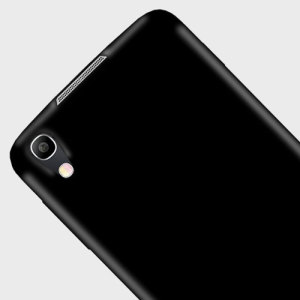 FlexiShield Alcatel IDOL 4 Gel Case - Solid Black