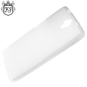 Flexishield Alcatel OneTouch Idol X+ Case - Frost White