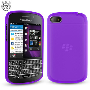 FlexiShield Case for BlackBerry Q10 - Purple