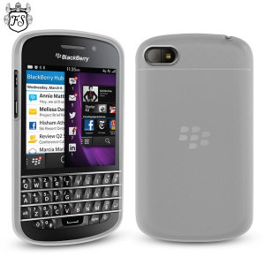 FlexiShield Case for BlackBerry Q10 - White