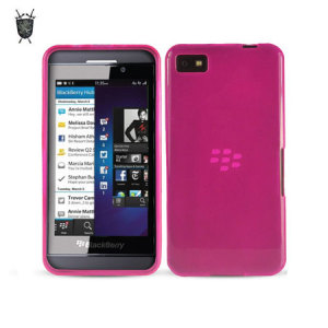 FlexiShield Case for BlackBerry Z10 - Pink