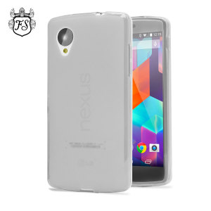 FlexiShield Case for Google Nexus 5 - Frost White