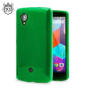 FlexiShield Case for Google Nexus 5 - Green