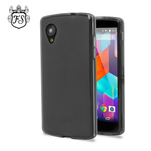 FlexiShield Case for Google Nexus 5 - Smoke Black
