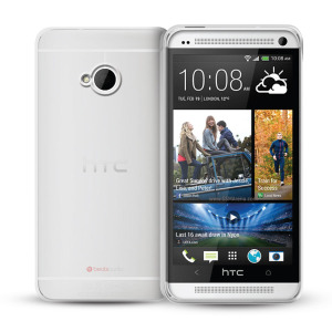 FlexiShield Case for HTC One 2013 - Translucent White