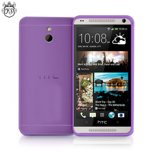 FlexiShield Case for HTC One Mini - Smoke Purple