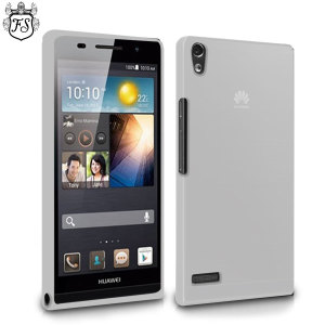 FlexiShield Case for Huawei Ascend P6 - Smoke White
