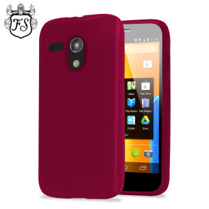 Flexishield Case for Moto G - Red