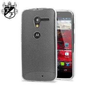 FlexiShield Case for Motorola Moto X - 100% Clear