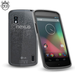 FlexiShield Case for Nexus 4 - 100% Clear