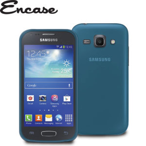 FlexiShield Case for Samsung Galaxy Ace 3 - Blue