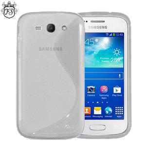 FlexiShield Case for Samsung Galaxy Ace 3 - Clear