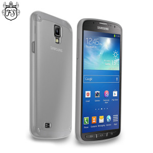 FlexiShield Case for Samsung Galaxy S4 Active - Frost White