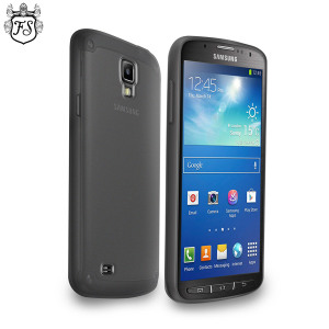 FlexiShield Case for Samsung Galaxy S4 Active - Smoke Black