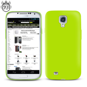 FlexiShield Case for Samsung Galaxy S4 - Green
