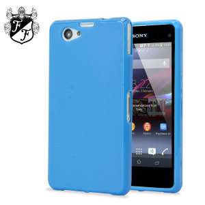 Flexishield Case for Sony Xperia Z1 Compact - Cobalt Blue