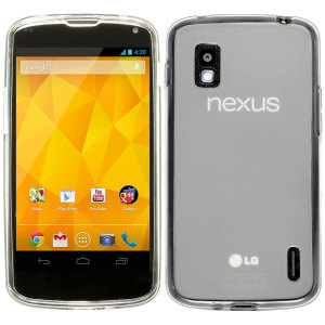 FlexiShield Frost Skin for Google LG Nexus 4 - White