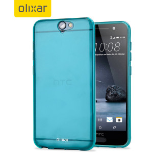 FlexiShield HTC One A9 Gel Case - Blue