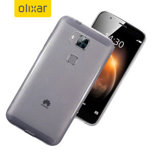 FlexiShield Huawei G8 Gel Case - 100% Clear