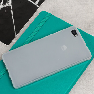 FlexiShield Huawei P8 Lite Case - Frost White
