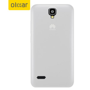 FlexiShield Huawei Y5 Gel Case - Frost White